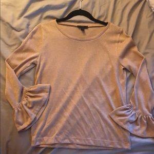J Crew bell sleeve blouse